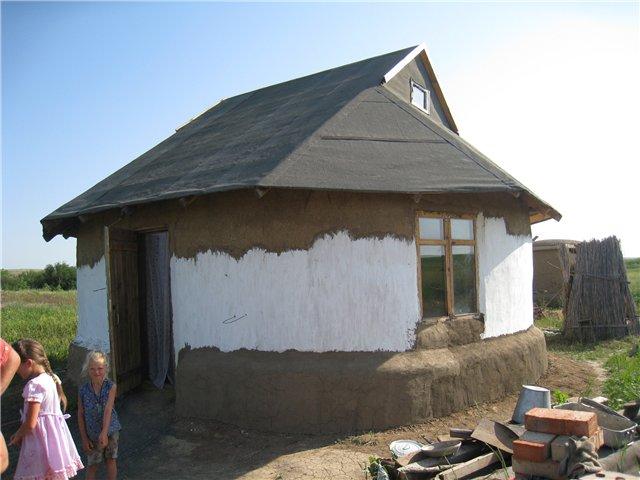 Саманный дом своими руками от и до 542