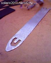 изготовление челнока для вязания сети