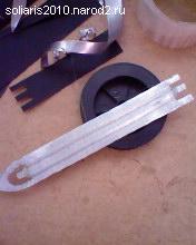 челнок для вязания сети