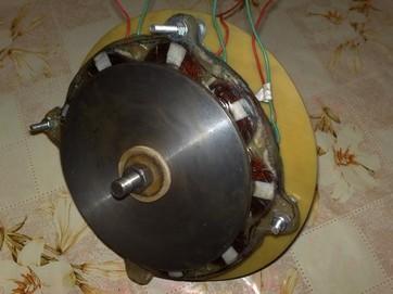 дисковый аксиальный генератор для ветряка