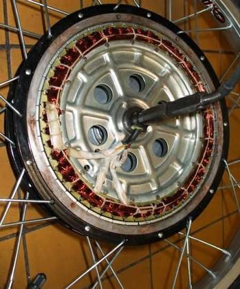 генератор из мотор колеса