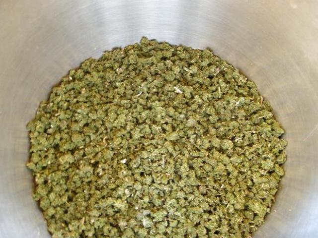 листья иван чая прокрученные через мясорубку, гранулы