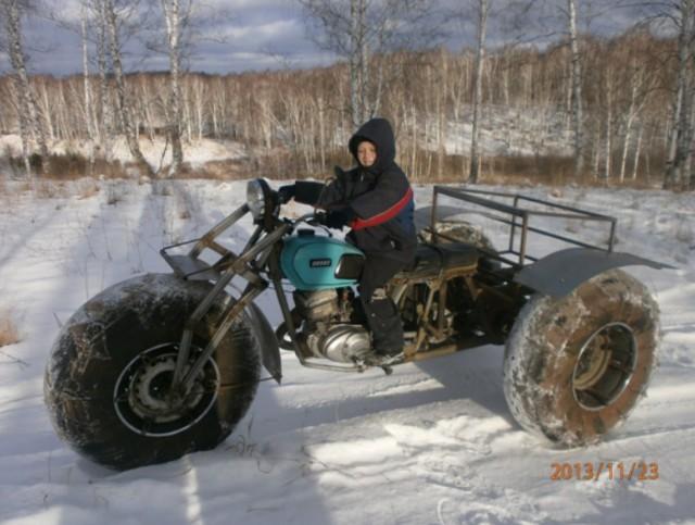 Каракат из мотоцикла ИЖ планета