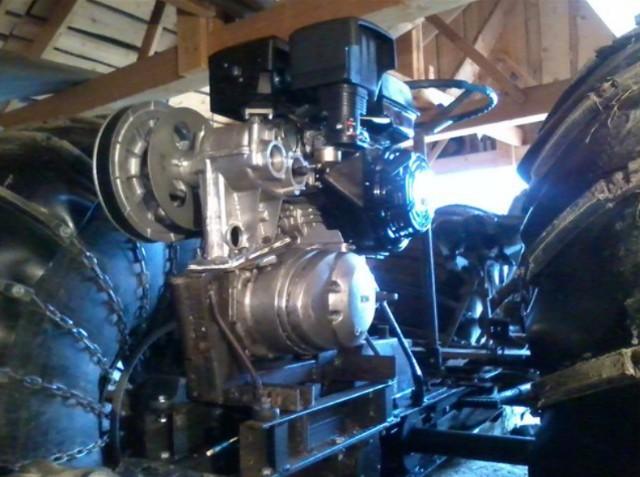 двигатель лифан и коробка иж