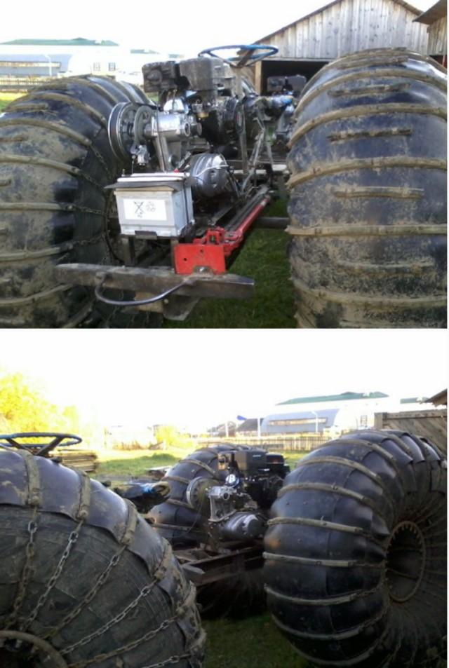 каракат с двигателем лифан