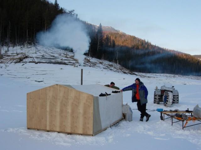 Палатка для зимней рыбалки из фанеры своими руками 25