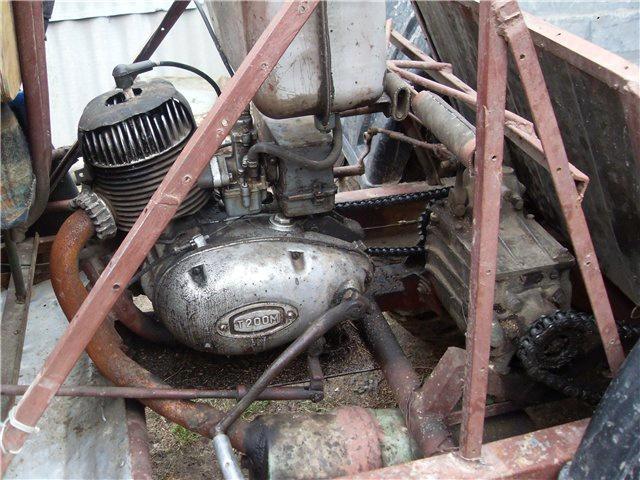 соединение двигателя с коробкой